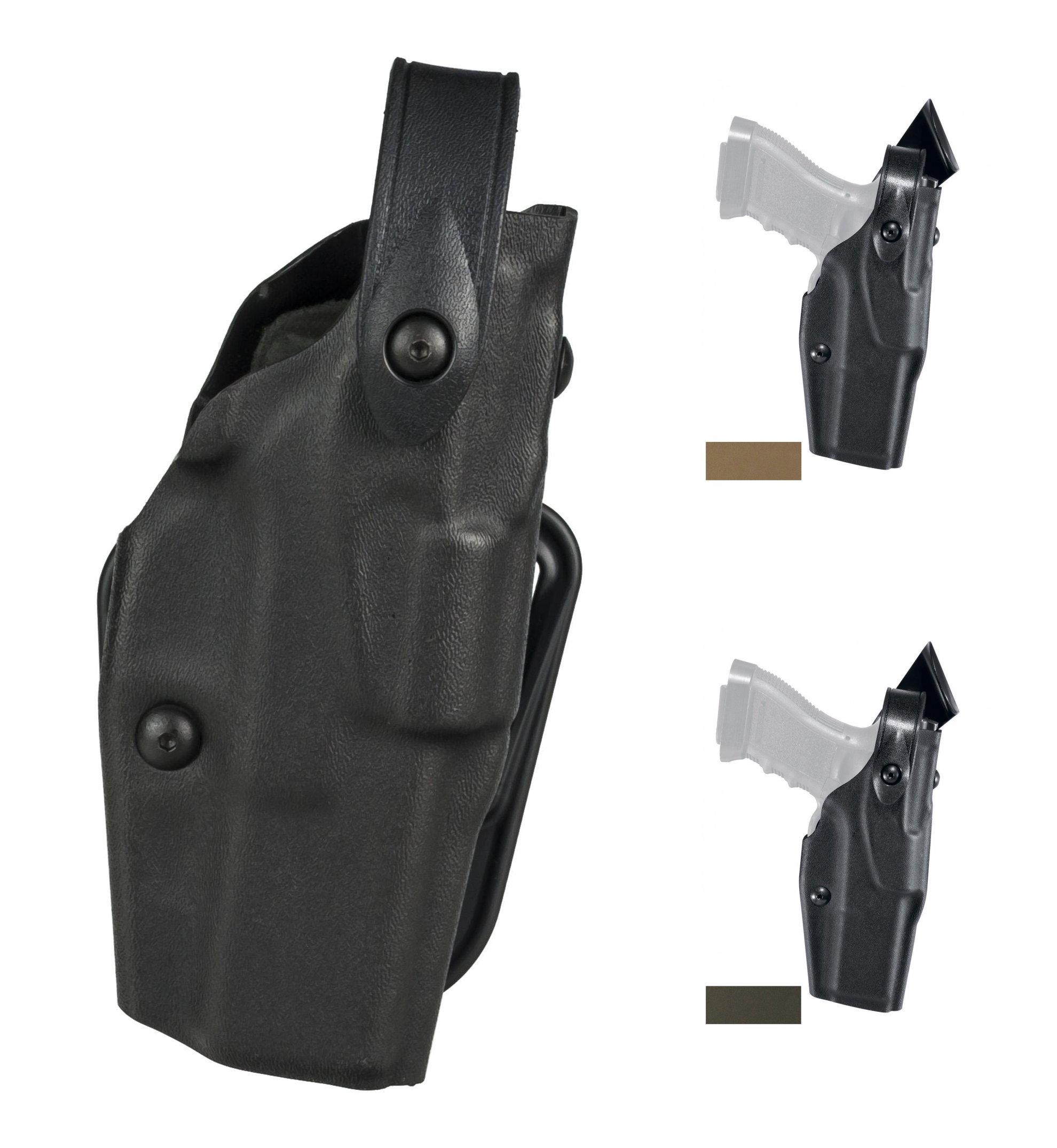 Safariland 6360-6832-482-S Glock 34 35 ALS//SLS ITI M3 Duty Holster STX LH