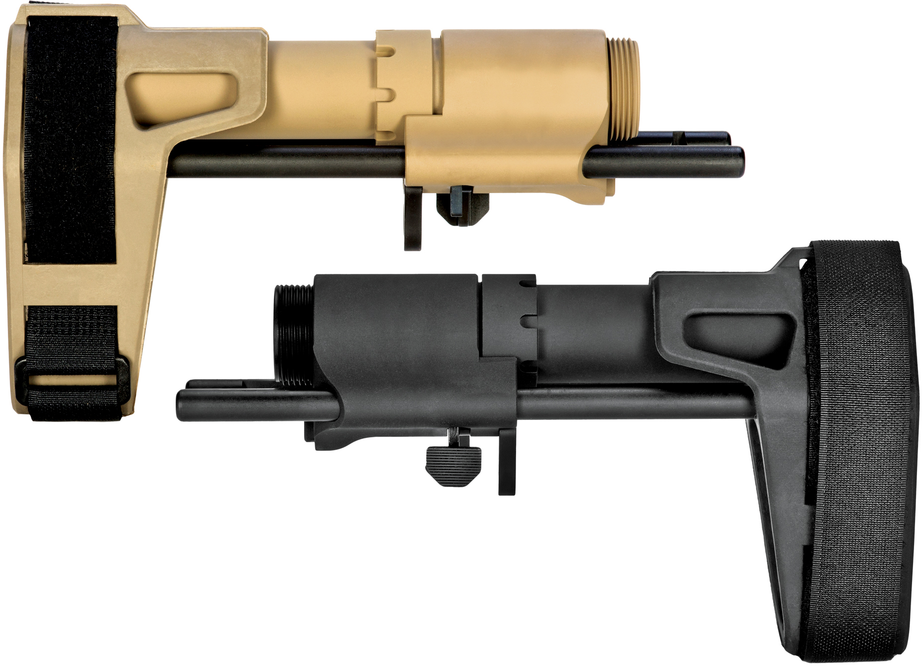 SB Tactical SBPDW Pistol Stabilizing Brace for Mil-spec AR-15 Receivers