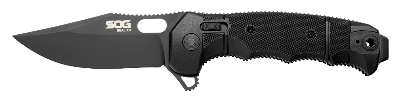 SOG Specialty Knives & Tools SEAL XR Flipper 3 9in Folding Knife