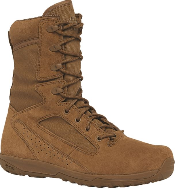 afdaca6bc55 Tactical Research by Belleville Mens Hot Weather Transition Boot/6  millimeter heel to toe drop, Coyote