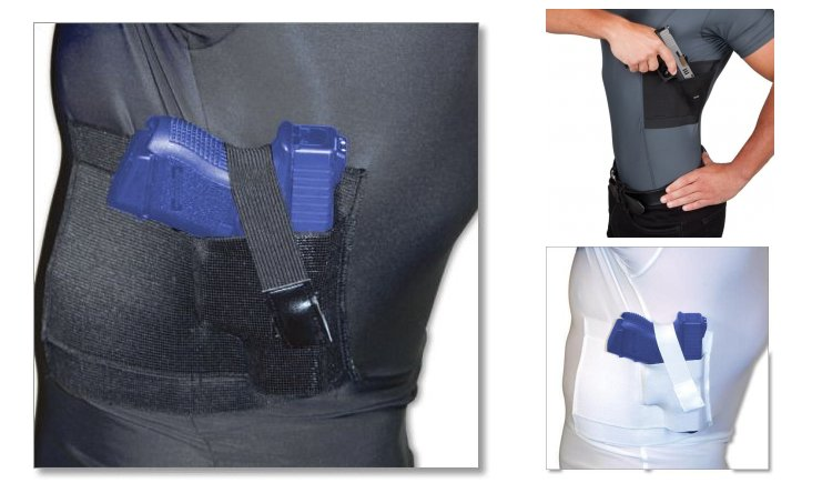 Undertech Undercover Ultimate Crew-Neck Concealment Holster Shirts