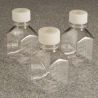 Nalge Nunc Square Media Bottles with Septum Closure, PETG, Sterile, NALGENE 342023-0060