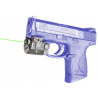 Viridian Green Lasers Universal Sub-Compact Green Laser w/ Tactical Light, ECR